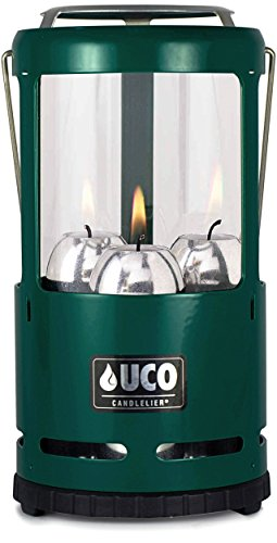 (UCO Candlelier Deluxe Candle Lantern, Green)