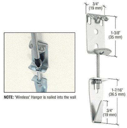 CRL Packaged Wireless Picture Hanger