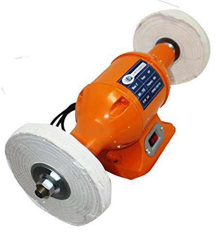 8'' 1HP BENCH BUFFER POLISHER GRINDER BUFF POLISH 3450RPM NEW by I_S IMPORT