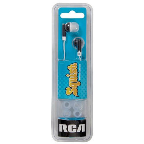 RCA HP61BK SQUISH Stereo Black product image