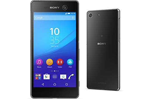 Sony Xperia M5 E5605 16GB 5-inch 4G LTE Factory Unlocked (Black) - 1 Year Warranty