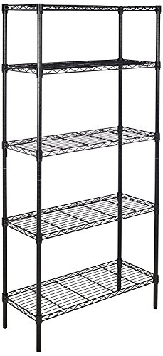 AmazonBasics 5-Shelf Adjustable Heavy