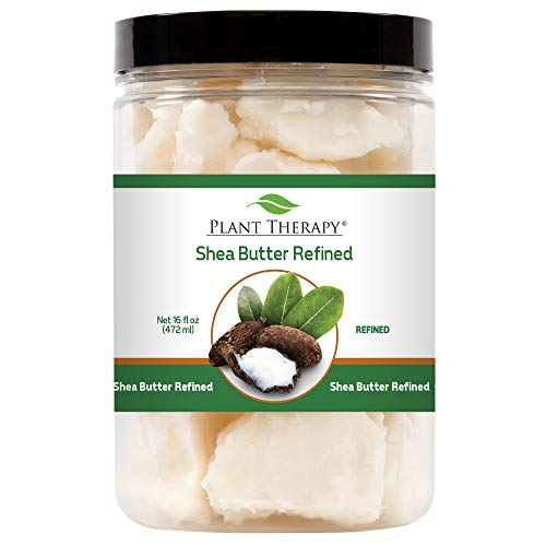 - Plant Therapy Shea Butter Refined. Ideal for Lotions, Creams, Balms and Soaps. 16 oz.