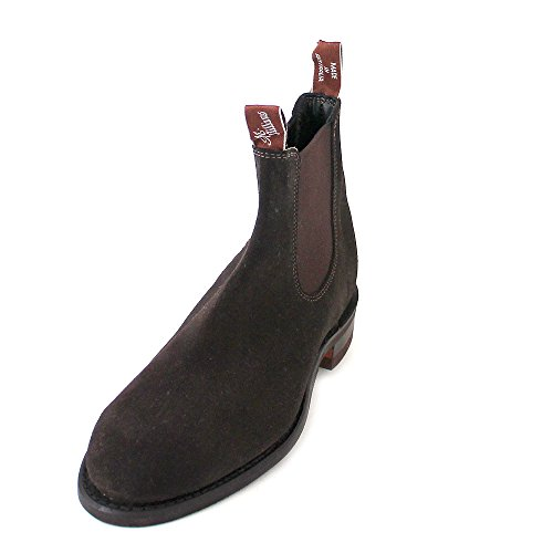 chocolate suede Suede Turnout M Williams Chocolate Comfort R Suede Braun qEp8xzEA
