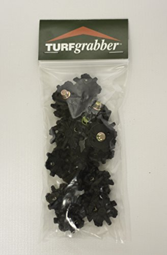 STABILicers Turfgrabber Replacement Cleats, Traction Cleat and Tread for Hilly, Wet, and Uneven Terrain, for Use with STABILicers Turfgrabber, OS