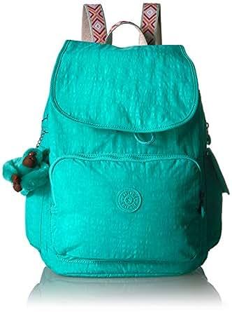 Kipling Ravier Medium Solid Backpack, Breezy Turquoise