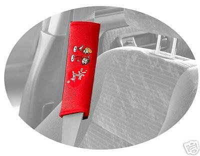 I Love Lucy Seat Belt/Shoulder Pad (Two) Lucille Bal -
