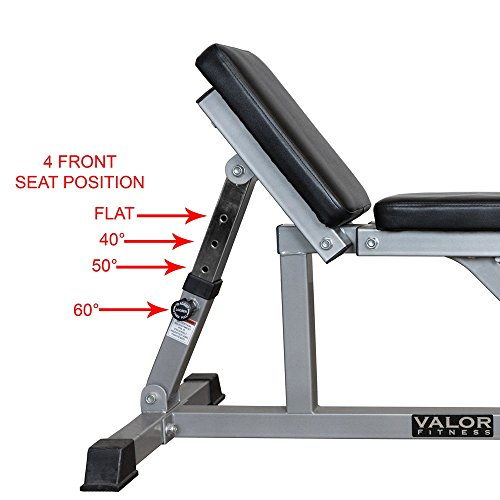 Valor Fitness Incline / Flat Utility Bench by Ironcompany.com (Image #3)