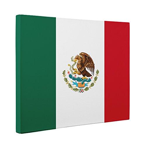 Mexico Flag CANVAS Wall Art Home Décor
