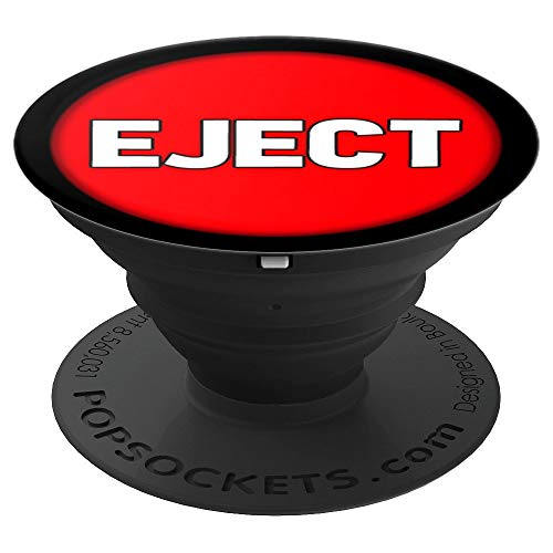 Do Not Push The Big Red Eject Button - PopSockets Grip and Stand for Phones and Tablets