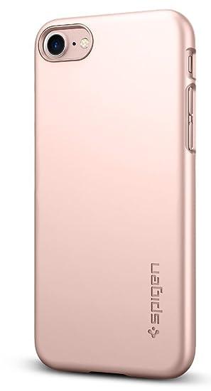 quality design c31e7 6ee49 Spigen Thin Fit Designed for Apple iPhone 8 Case (2017) / Designed for  iPhone 7 Case (2016) - Rose Gold