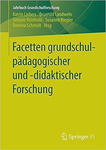 Book Facetten grundschulpädagogischer und -didaktischer Forschung Jahrbuch Grundschulforschung