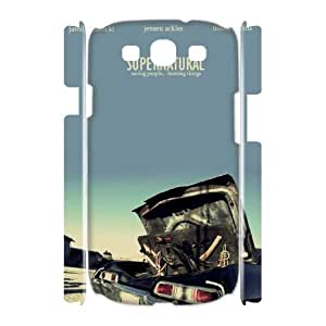 Diy Supernatural 3D Cell Phone Case, DIY Durable Cover Case for Samsung Galaxy S3 I9300 Supernatural