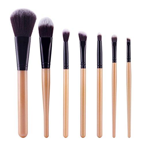 7Pcs Cosmetic Brush Makeup Brush Sets Kits Tools