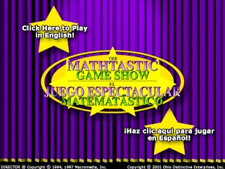 The Mathtastic Game Show