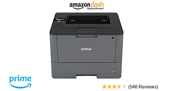 Brother Monochrome Laser Printer, HL-L6200DW, Wireless Networking, Mobile Printing, Duplex Printing, Large Paper Capacity, Amazon Dash Replenishment ...