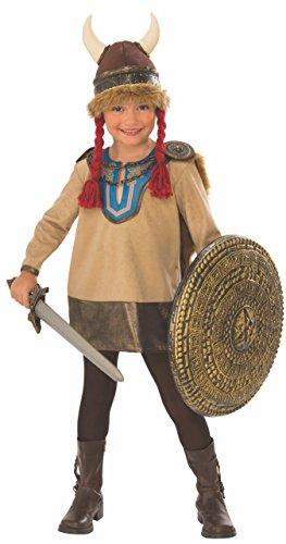 Rubie's Viking Girl Costume, Medium -
