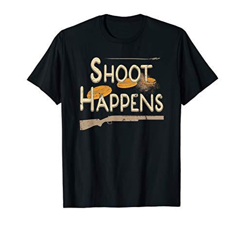 Clay Target Shooting Skeet Trap Sporting Clays T-Shirt