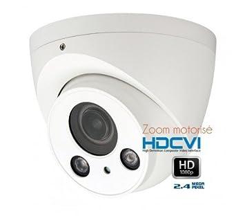 HD-CVI - Cámara Domo de vigilancia 1080P HDCVI Zoom motorizado IR 60 m - cam-hdcvi-d3045: Amazon.es: Bricolaje y herramientas
