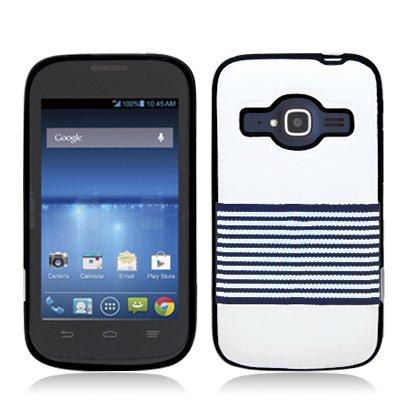 Amazon.com: AIMO Luxury Fabric TPU Cover for ZTE Concord II ...