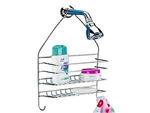 Cromo 2 niveles para ducha cesta para organizador para for Cesta ducha colgar
