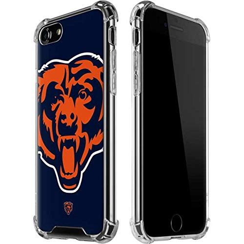 Skinit Chicago Bears iPhone 7 Clear Case - Officially Licensed NFL Chicago Bears Phone Case Compatible with iPhone 7 & iPhone 8