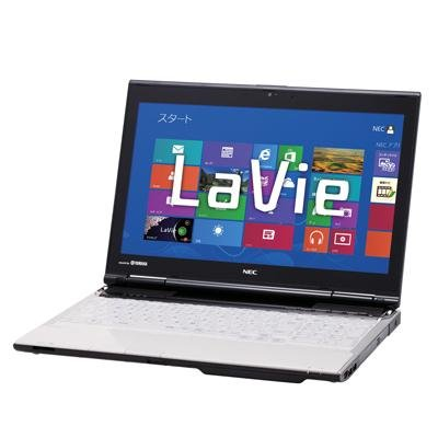 NEC LaVie L LL750 HS6W PC-LL750HS6W [クリスタルホワイト]