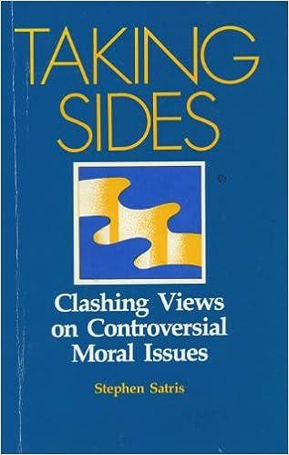 TAKING SIDES MORAL ISSUES EPUB