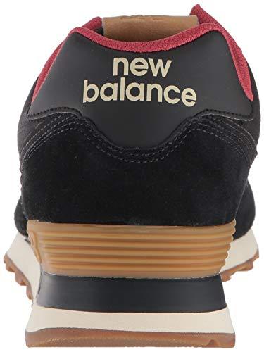 Uomo Nero New Balance 574v2Sneaker rosso dxrCBoe