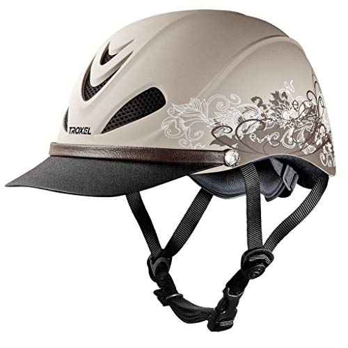 Troxel Dakota TRAILDUST Lightweight Trail Equestrian Helmet SEI/ASTM Certified (Medium)