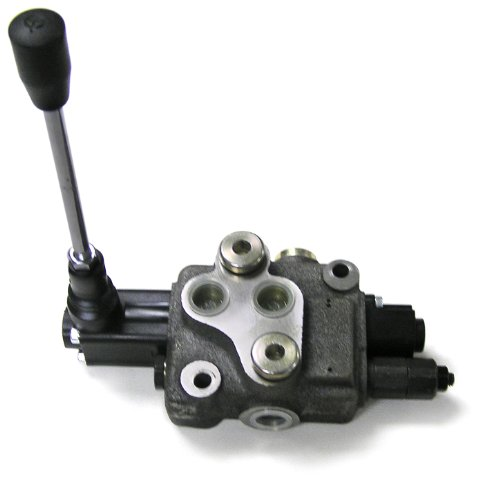 Prince WVS11B5C1 Directional Control Valve, Monoblock, Cast Iron, 1 Spool, 4 Ways, 3 Positions, Single Acting Cylinder Spool, Spring Center, Lever Handle, 4000 psi, 14 gpm, #8 SAE