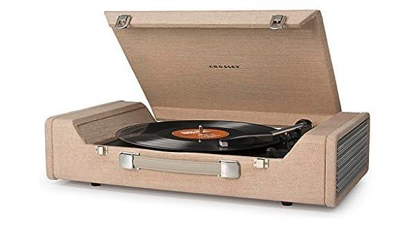 Crosley Nomad Three Speed USB Enabled Vinyl Turntable with ...