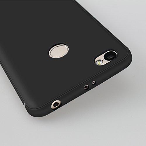 Cover para Xiaomi Redmi Y1 / Xiaomi Redmi Note 5A Prime 5.5 , WenJie Unicornio del arco iris Negro Accesorios Regalo Muchacha blanca de la mariposa TPU Silicona Suave Funda Case Tapa Caso Parachoques WM139