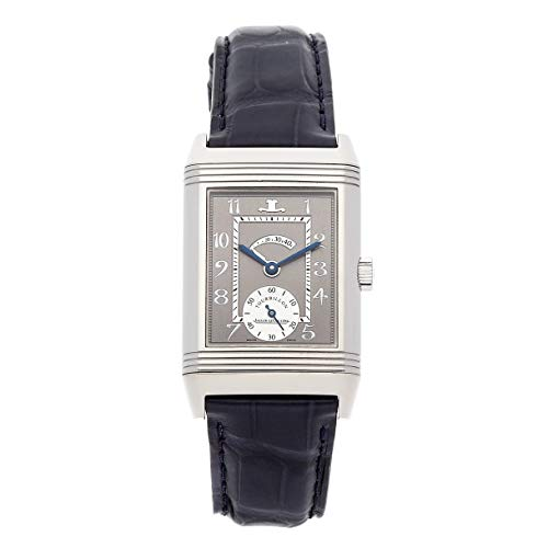 Jaeger-LeCoultre Reverso Mechanical (Hand-Winding) Grey Dial Mens Watch Q2176440 (Certified Pre-Owned)