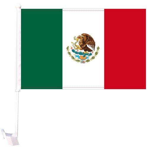 World Cup Mexico Car Flagロシア2018 B07CNX9BDD