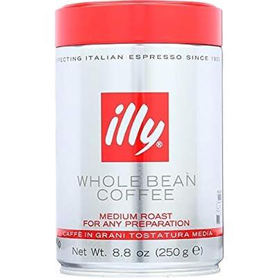 Illy Caffe Coffee Coffee - Whole Bean - Medium Roast - 8.8 oz - case of 6 by ILLY CAFFE COFFEE