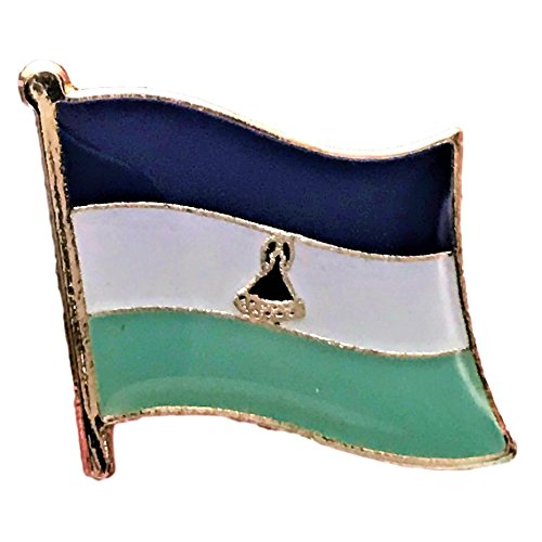 Backwoods Barnaby Lesotho Flag Lapel Pin