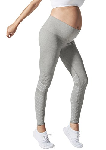 BLANQI SportSupport Hipster Contour Legging (Small, Dove Grey) (Hipster Maternity Clothes)