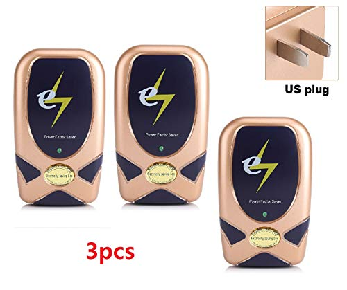 28KW Home Electricity Power Energy Factor Saver Tool Saving Up To 30% 90-250V Energy Power Saver Device ... (3PCS) (Best Energy Saving Devices)