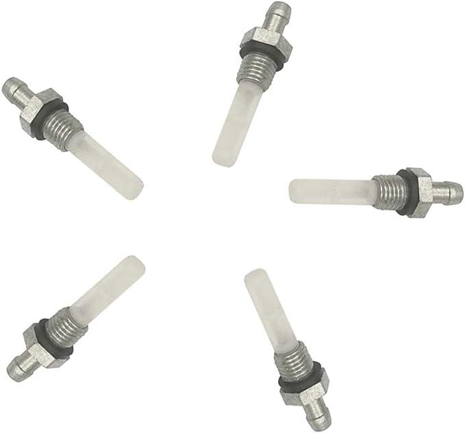 Cancanle 5 filtros Conjunto de Tanque de Combustible para Honda GX110 GX120 GX140 GX160 GX200 GX240 GX270 168F 172F Motor Motor generador cordeles