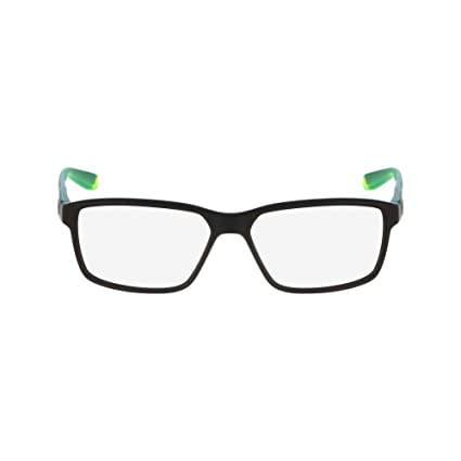 9acbc2dc0702 Amazon.com: Eyeglasses NIKE 7092 001 MATTE BLACK/VOLT: Sports & Outdoors