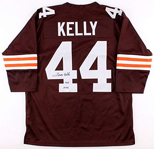 Leroy Kelly Autographed Signed Browns Throwback Jersey Inscribed HOF 1994 Memorabilia - JSA Authentic ()