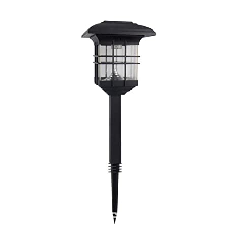Amazon.com: Solar Outdoor Flame Dancing Light Lamparas Solares para ...