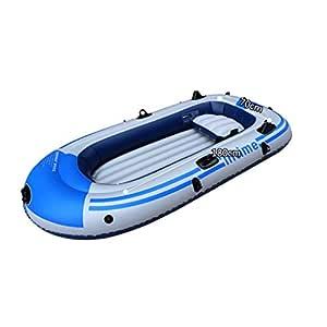 Ljf Bote Inflable Grande Bote de Cuatro derivas Bote de Kayak ...