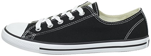 Leath Nero 17 52 Dainty Donna Sneaker Ox Converse 289050 001 black 8Wqw564
