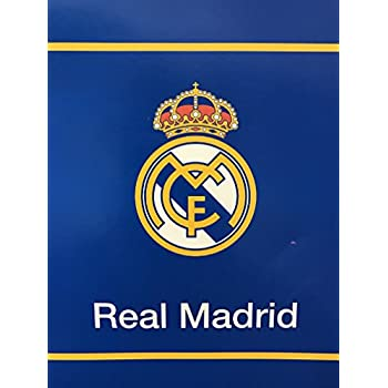 New Licensed Real Madrid Luxury Plush Twin Size Blanket 60