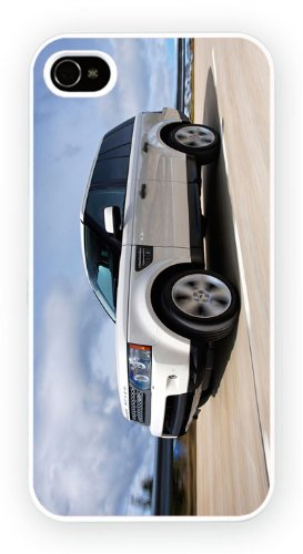 Range Rover Sport White, iPhone 6+ (PLUS) cas, Etui de téléphone mobile - encre brillant impression