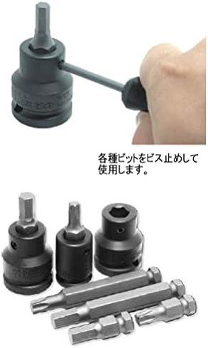 コーケン 1/2(12.7mm)SQ. インパクトヘックスビットソケットセット 18ヶ組 14204M