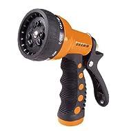 Dramm 12702  9-Pattern Revolver Spray Nozzle, Orange