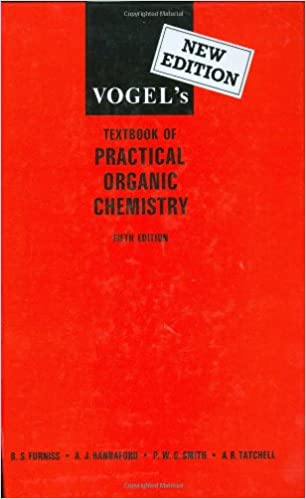 Vogels Textbook Of Practical Organic Chemistry 5th Edition Ai